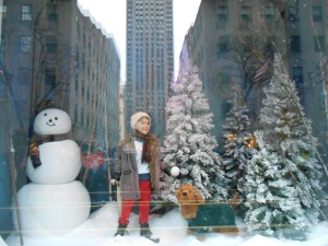 Saks Window