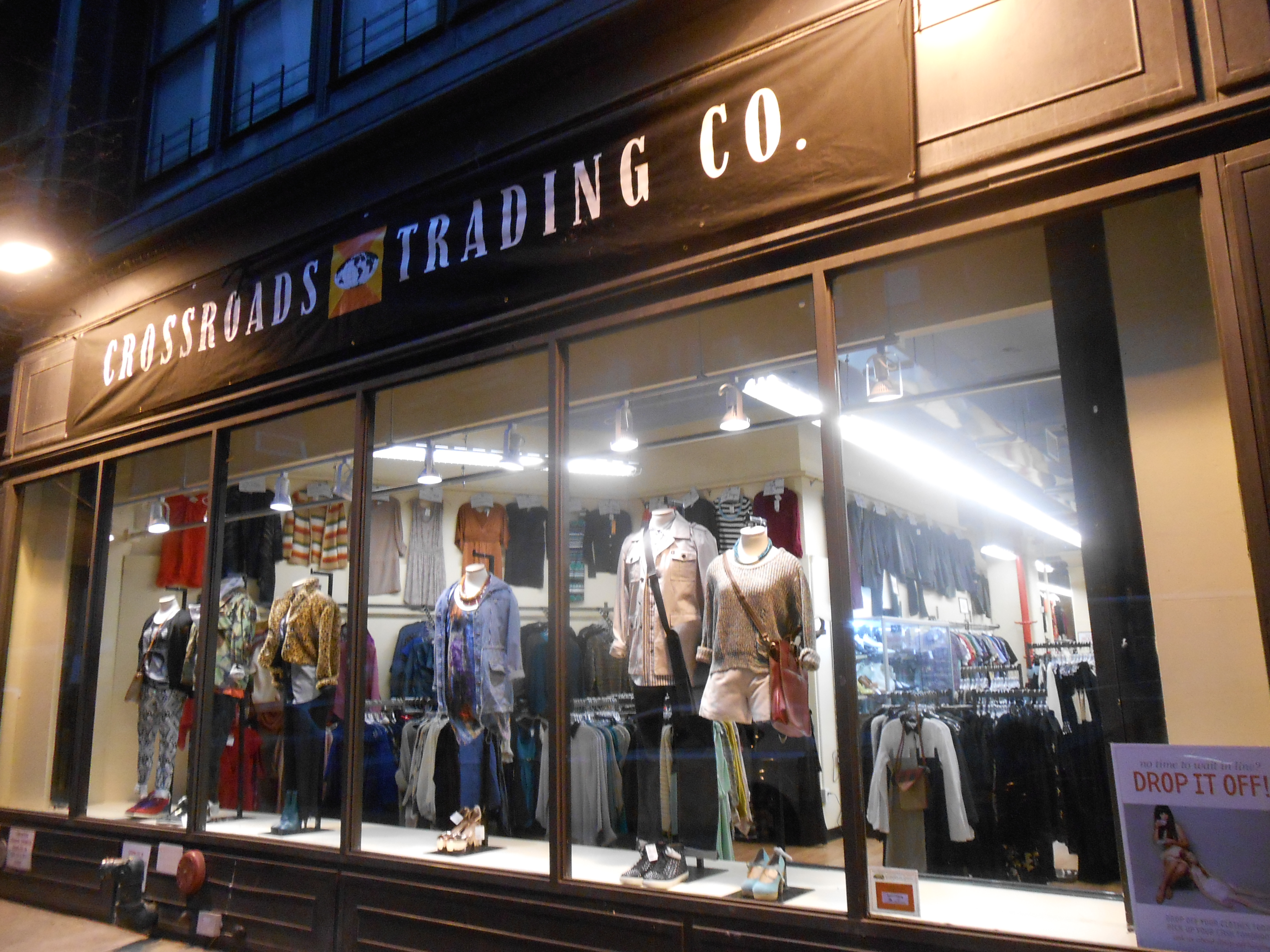 Traders clothing store
