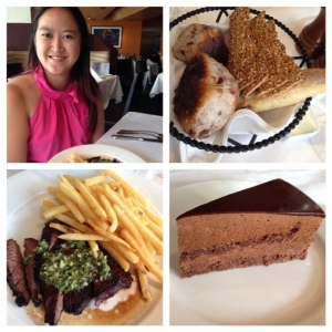 Lunch at Nick + Stef's Steakhouse