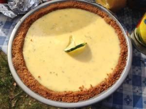 BBQkeylime pie