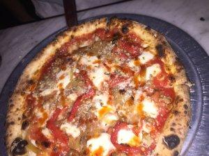 tufino_sausage pizza