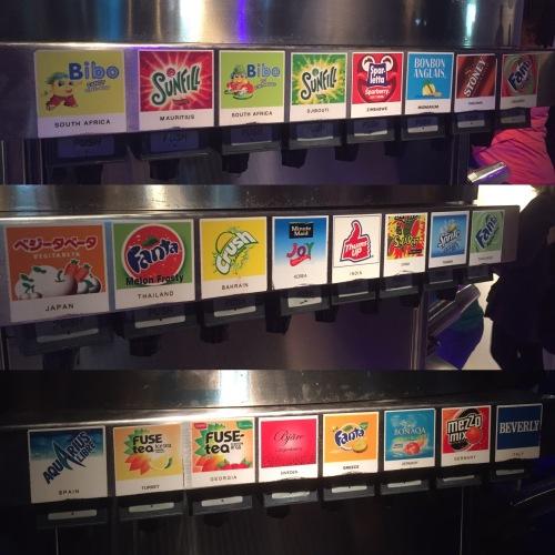 Atlanta_coca cola flavors